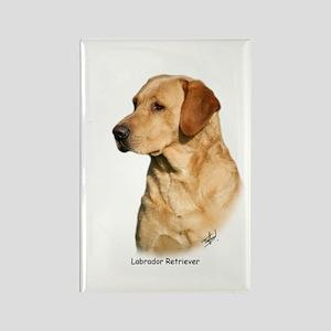 Labrador Retriever 9Y297D-038a Rectangle Magnet