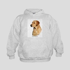 Labrador Retriever 9Y297D-038a Kids Hoodie