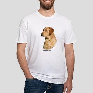 Labrador Retriever 9Y297D-038a Fitted T-Shirt
