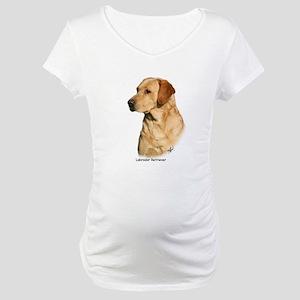 Labrador Retriever 9Y297D-038a Maternity T-Shirt