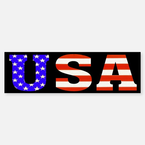 USA Stars n Stripes! Bumper Bumper Bumper Sticker