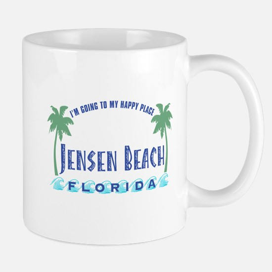 Jensen Beach Happy Place - Mug