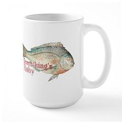 Vintage Something's Fishy Large Mug