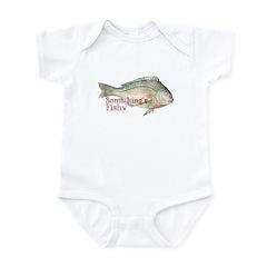 Vintage Something's Fishy Infant Bodysuit
