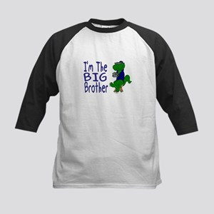 I'm The Big Brother Dinosaur Kids Baseball Jersey