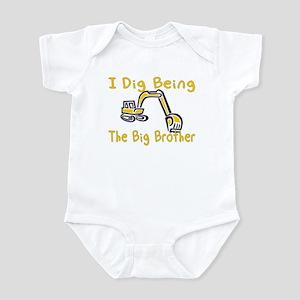 I Dig Being the Big Brother Infant Bodysuit