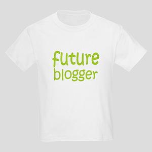 Future Blogger Kids Light T-Shirt
