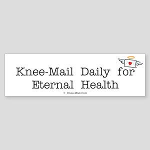 Eternal Health Bumper Sticker