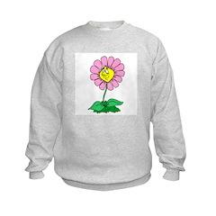 Flower Face Sweatshirt