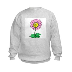Flower Face Sweatshirt