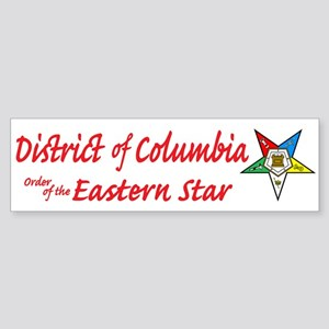 District of Columbia Eastern Bumper Sticker