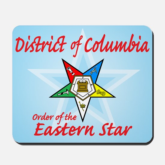 District of Columbia Eastern Mousepad