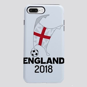 England Flag Soccer Dab iPhone 8/7 Plus Tough Case