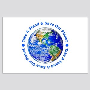 Save Our Planet! Large Poster