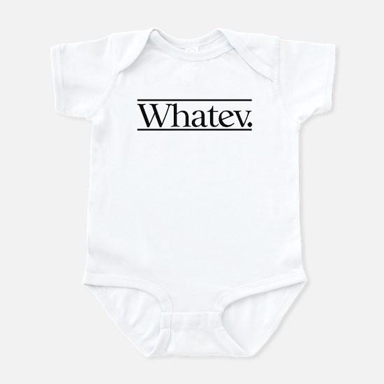 Whatev Infant Bodysuit