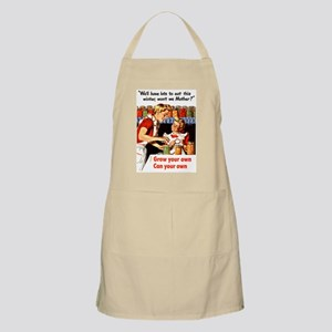 Grow Your Own BBQ Apron