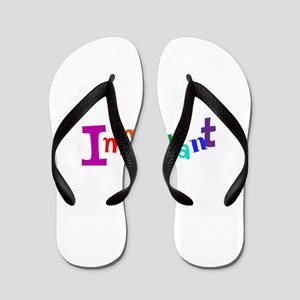 Immigrants, we are all immigtants Flip Flops