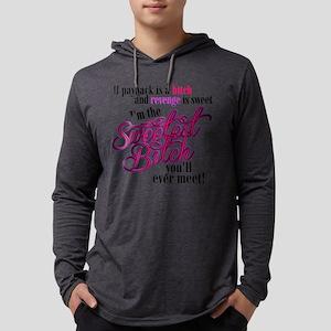 Sweetest Bitch Mens Hooded Shirt