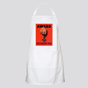Award for Careless Talk BBQ Apron