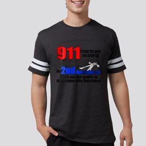 911 Chalk Outlines Mens Football Shirt
