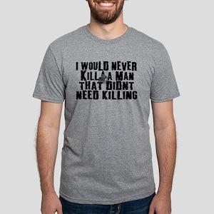 Kill a Man Mens Tri-blend T-Shirt