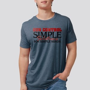 Gun Control Mens Tri-blend T-Shirt