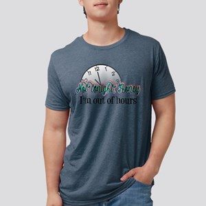Not Tonight, Honey Mens Tri-blend T-Shirt