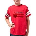 hauled my heart away2 Youth Football Shirt