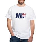 """""""M 08"""" White T-Shirt"""