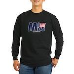 """""""M 08"""" Long Sleeve Black T-Shirt"""