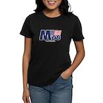 """M 08"" Women's Black T-Shirt"