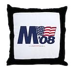 """""""M 08"""" Throw Pillow"""