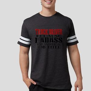 Badass Trucker Mens Football Shirt