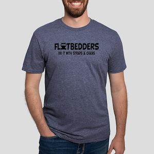 flatbedders Mens Tri-blend T-Shirt