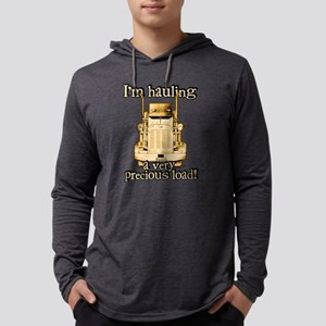 Hauling a Precious Load Mens Hooded Shirt