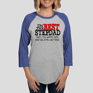 Best Stepdad Womens Baseball Tee