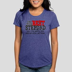 Best Stepdad Womens Tri-blend T-Shirt