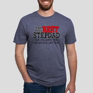 Best Stepdad Mens Tri-blend T-Shirt