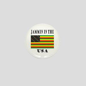 'Jammin in the USA' Mini Button