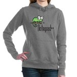 Notepad++ Women's Hooded Sweatshirt