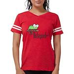 Notepad++ Womens Football Shirt