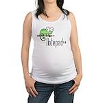 Notepad++ Maternity Tank Top