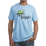 Notepad++ Fitted T-Shirt