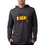 kick out of this Mens Hooded Shirt