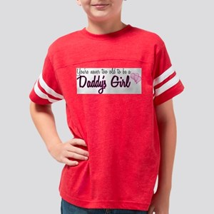 daddysgirl Youth Football Shirt