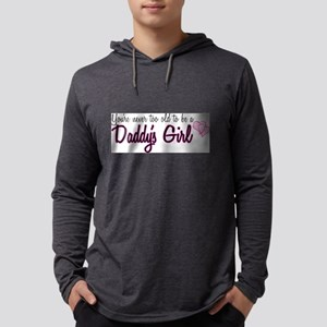 daddysgirl Mens Hooded Shirt