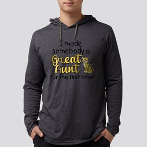 Great Aunt Mens Hooded Shirt