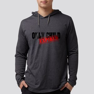 Only Child/Expired Mens Hooded Shirt