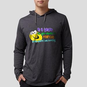 haircut Mens Hooded Shirt