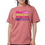 God Showing Off Womens Comfort Colors® Shirt